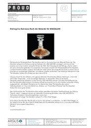 Eintrag ins Guinness Buch der Rekorde für MACALLAN