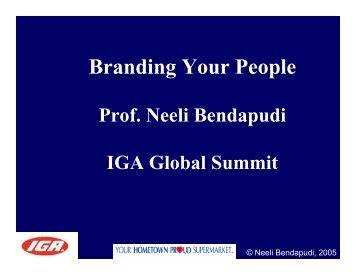 Branding Your People