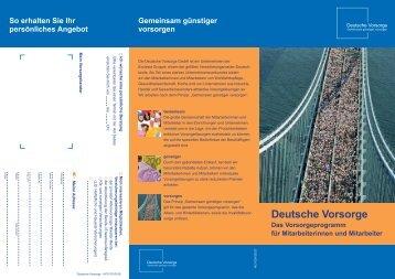 Deutsche Vorsorge - Geerken + Partner GmbH