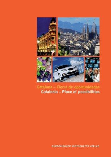 Cataluña – Tierra de oportunidades Catalonia ... - UPCommons
