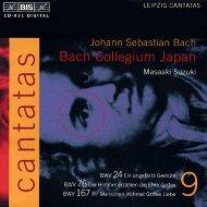 Bach Cantatas, Vol. 9 -M. Suzuki & Bach Collegium Japan (BIS CD)