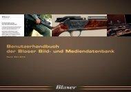 Benutzerhandbuch der Blaser Bild- und Mediendatenbank