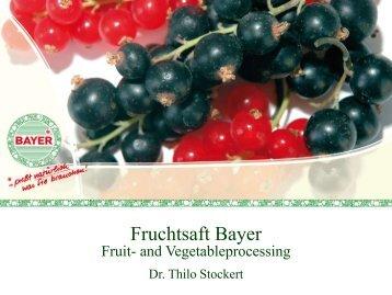 Fruchtsaft Bayer