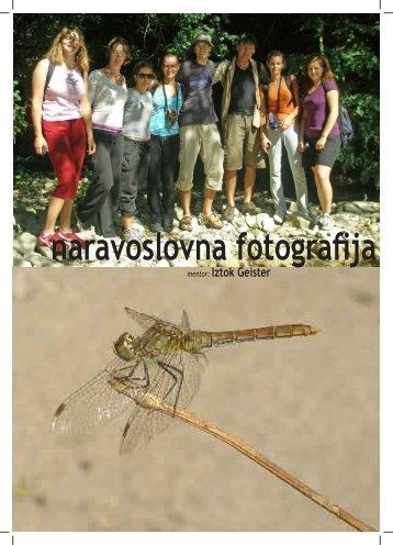 naravoslovna fotografija