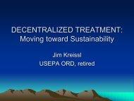 Moving toward Sustainability