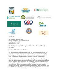 support - Clean Water Action