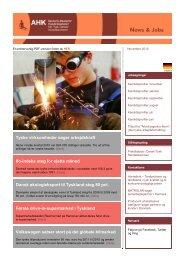 News & Jobs november 2010 - Deutsch-Dänische Handelskammer