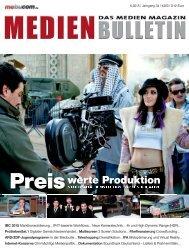 MEDIEN BULLETIN 6/2015 (Vorschau)