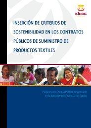 inserción de criterios de sostenibilidad en los contratos ... - Cilma
