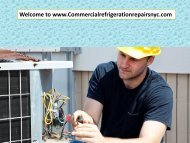 Welcome to www.Commercialrefrigerationrepairsnyc.com