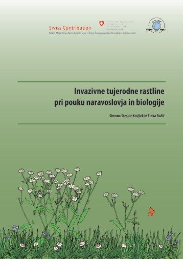 pri pouku naravoslovja in biologije