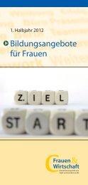 Bildungsangebote für Frauen - Landkreis Celle