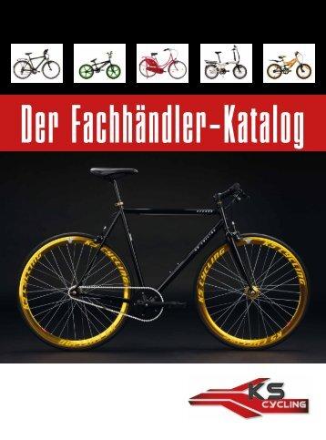 Der KS CYCLING Fachhändler-Katalog