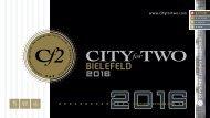 CITYforTWO BIELEFELD | Limitierte Ausgabe 2016