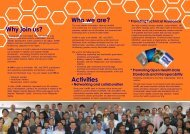 Why join us? Who we are? Activities