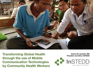 Transforming Global Health through the use of Mobile ...