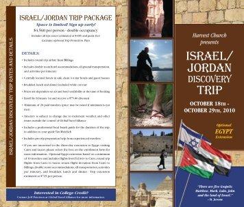ISRAEL/JORDAN