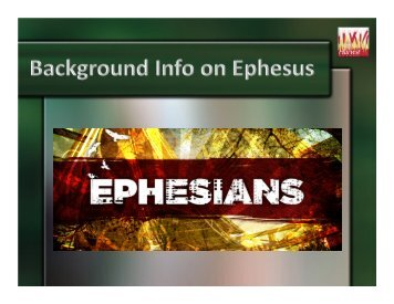 Microsoft PowerPoint - Ephesus Background.pptx