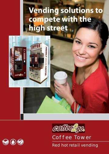 Vending solutions to compete with the high street