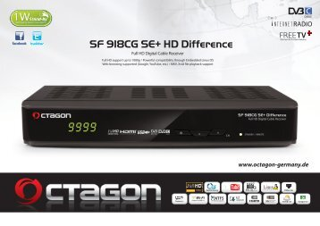 leaflet_Octagon_SF 918CG SE+ Difference(Eng)