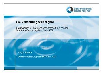 Die Verwaltung wird digital