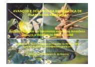 AVANÇOS E DESAFIOS NA SISTEMÁTICA DE PLANTAS DA AMAZÔNIA