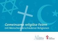 Gemeinsame religiöse Feiern