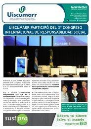 UISCUMARR PARTICIPÓ DEL 3º CONGRESO INTERNACIONAL DE RESPONSABILIDAD SOCIAL
