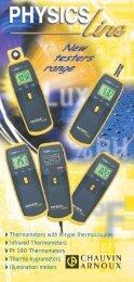 ◗ Illumination meters