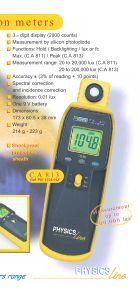 ◗ Illumination meters - Page 5