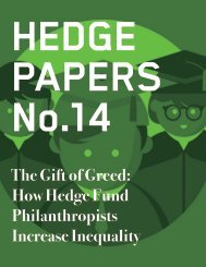HEDGE PAPERS No.14