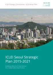 ICLEI Seoul Strategic Plan 2015-2021