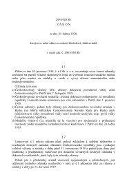 243/1920 Sb. Z Á K O N ze dne 10. dubna 1920, kterým ... - Nobilitas