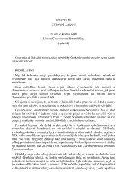 150/1948 Sb. ÚSTAVNÍ ZÁKON ze dne 9. května 1948 ... - Nobilitas