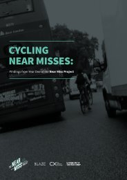 CYCLING NEAR MISSES