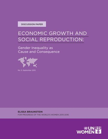 ECONOMIC GROWTH AND SOCIAL REPRODUCTION