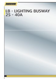 LB - LIGHTING BUSWAY 25 - 40A
