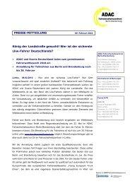 LKW Wettbewerb - ADAC Fahrsicherheit GmbH