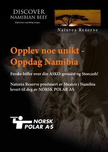 Opplev noe unikt - Oppdag Namibia