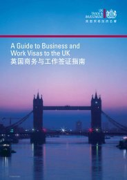 A Guide to Business and Work Visas to the UK