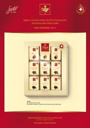 Exclusive Travel Retail SMALL CHOCOLATES / PETITS - bonardo.ch