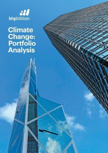 Climate Change Portfolio Analysis