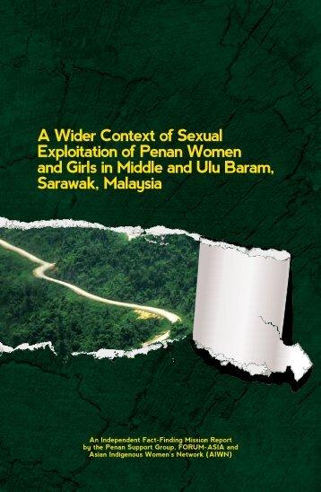 Penan Report - Rengah Sarawak - C2o