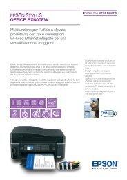 Scarica la brochure di Stylus Office BX600FW - Epson
