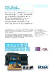 Download brochure - Epson