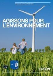 AGISSONS POUR L'ENVIRONNEMENT