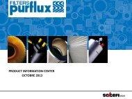 PRODUCT INFORMATION CENTER OCTOBRE 2013