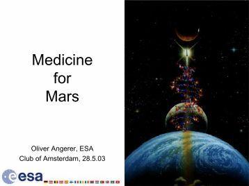 Medicine for Mars