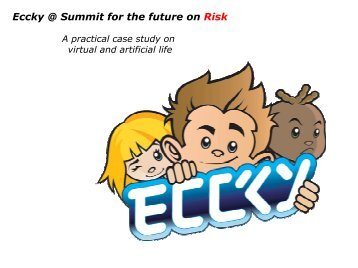 Eccky @ Summit for the future on Risk