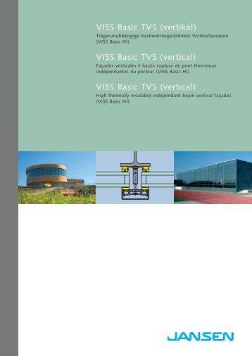 VISS Basic TVS (vertikal) VISS Basic TVS (vertical) VISS Basic TVS (vertical)